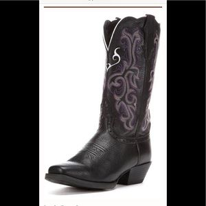 Brand New In Box Justin Ladies Size 10 Cowboy Boot